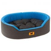 Ferplast Dandy C - легло от памучен плат, 45 см, черно-синьо