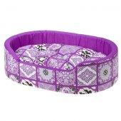 Ferplast Dandy C - легло от памучен плат, 55 см, лилаво