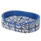 Ferplast Dandy C - легло от памучен плат, 55 см, синьо