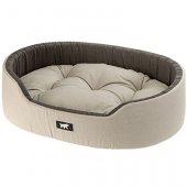 Ferplast Dandy C - легло от памучен плат, бежово-кафяв