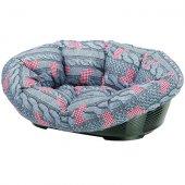 Ferplast Sofa 10 - пластмасово легло с дюшек лукс, 96 см, на кученца