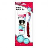Beaphar Puppy Dental Kit - четка и паста за зъби 50 гр - за малки кученца