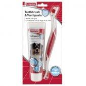 Beaphar Dental Kit – четка и паста за зъби 100 гр