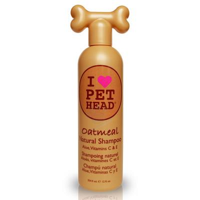 Натурален шампоан Pet Head, 354 мл, аромат на ягодов йогурт, с овесено брашно, Алое Вера, Жожоба